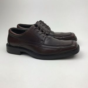 Bass Shoes - GH BASS & CO CHETBRN LEATHER LACE UP DRESS OXFORDS